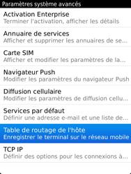 BlackBerry 9810 Torch - Paramètres - Reçus par SMS - Étape 6