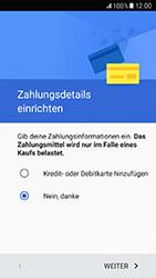 Samsung Galaxy A5 (2017) - Apps - Einrichten des App Stores - Schritt 19