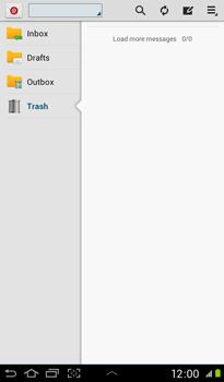 Samsung P3100 Galaxy Tab 2 7-0 - E-mail - Sending emails - Step 4