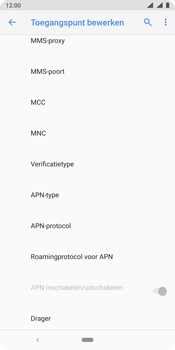 Nokia 9 - internet - handmatig instellen - stap 15