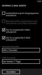 Nokia Lumia 1320 - E-Mail - Konto einrichten - Schritt 17