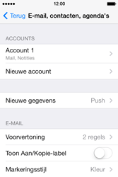 Apple iPhone 4 met iOS 7 - E-mail - Instellingen KPNMail controleren - Stap 5