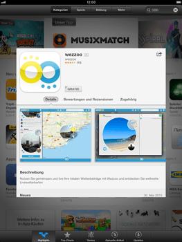 Apple iPad Retina - Apps - Einrichten des App Stores - Schritt 5