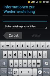 Sony Xperia Tipo Dual - Apps - Konto anlegen und einrichten - Schritt 15