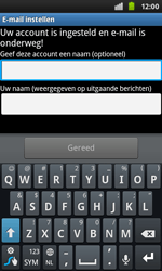 Samsung I9001 Galaxy S Plus - E-mail - handmatig instellen - Stap 11