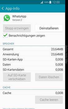 Samsung Galaxy Note Edge - Apps - Eine App deinstallieren - Schritt 6