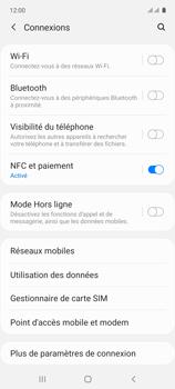 Samsung Galaxy A71 - Internet et connexion - Désactiver la connexion Internet - Étape 5