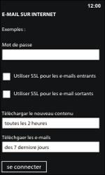 Nokia Lumia 800 / Lumia 900 - E-mail - Configuration manuelle - Étape 16