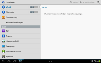 Samsung Galaxy Note 10-1 - Ausland - Im Ausland surfen – Datenroaming - 6 / 11