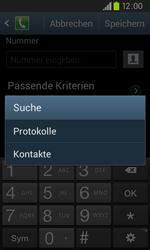 Samsung Galaxy S2 Plus - Anrufe - Anrufe blockieren - 0 / 0