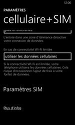 Nokia Lumia 630 - Réseau - Changer mode réseau - Étape 5