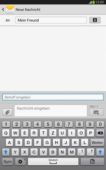 Samsung Galaxy Note 8-0 - MMS - Erstellen und senden - 0 / 0