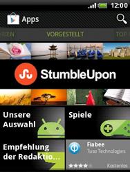 HTC Wildfire - Apps - Konto anlegen und einrichten - 2 / 2