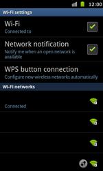 Samsung Galaxy S Advance - WiFi - WiFi configuration - Step 9
