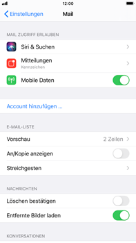 Apple iPhone 6s Plus - iOS 14 - E-Mail - 032c. Email wizard - Outlook - Schritt 4