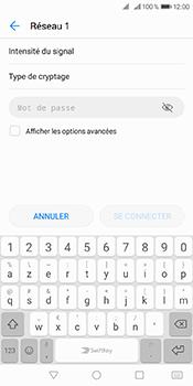 Huawei Y6 (2018) - Internet et connexion - Accéder au réseau Wi-Fi - Étape 7
