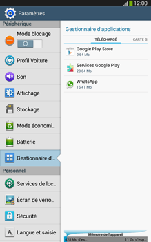 Samsung Galaxy Tab 3 8-0 LTE - Applications - Comment désinstaller une application - Étape 5