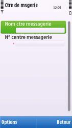 Nokia C6-00 - SMS - configuration manuelle - Étape 8