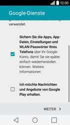 LG Leon 3G - Apps - Konto anlegen und einrichten - 16 / 20