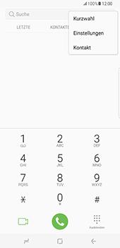 Samsung Galaxy S8 Plus - Anrufe - Rufumleitungen setzen und löschen - Schritt 5