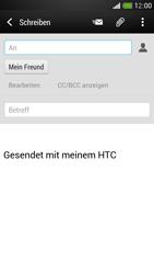 HTC One Mini - E-Mail - E-Mail versenden - Schritt 8