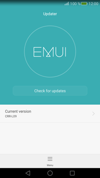 Huawei Mate S - Device - Software update - Step 5