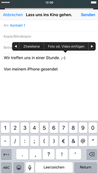 Apple iPhone 6s Plus - E-Mail - E-Mail versenden - 10 / 16