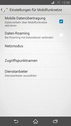 Sony D5803 Xperia Z3 Compact - Internet - Manuelle Konfiguration - Schritt 8