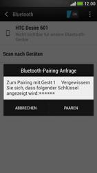 HTC Desire 601 - Bluetooth - Geräte koppeln - Schritt 9