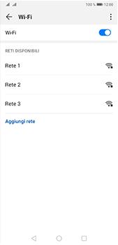 Huawei P20 Pro - Android Pie - WiFi - Configurazione WiFi - Fase 6
