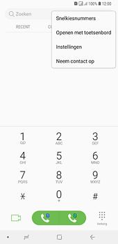 Samsung Galaxy A6 Plus - voicemail - handmatig instellen - stap 5