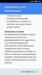 Samsung Galaxy S6 - Android Nougat - Apps - Einrichten des App Stores - Schritt 15