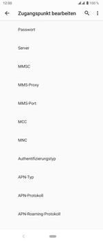 Sony Xperia 5 - Internet und Datenroaming - Manuelle Konfiguration - Schritt 13