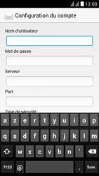 Huawei Y625 - E-mail - Configuration manuelle - Étape 9