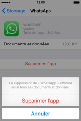 Apple iPhone 4S (iOS 8) - Applications - Supprimer une application - Étape 8