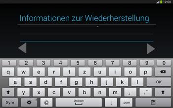 Samsung Galaxy Tab 3 10-1 LTE - Apps - Konto anlegen und einrichten - 16 / 25