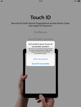 Apple iPad Pro 9.7 inch - iOS 11 - Persönliche Einstellungen von einem alten iPhone übertragen - 12 / 30