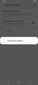 Samsung Galaxy A80 - Software - Installing software updates - Step 6