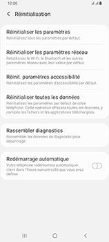 Samsung Galaxy A80 - Téléphone mobile - Réinitialisation de la configuration d