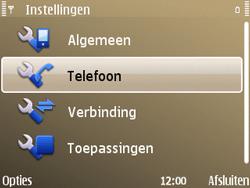 Nokia E72 - Netwerk - gebruik in het buitenland - Stap 8