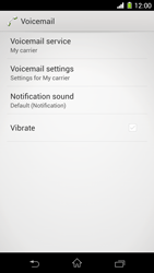 Sony C6903 Xperia Z1 - Voicemail - Manual configuration - Step 6