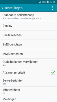 Samsung N910F Galaxy Note 4 - MMS - probleem met ontvangen - Stap 10
