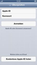 Apple iPhone 5 - Apps - Konfigurieren des Apple iCloud-Dienstes - Schritt 5