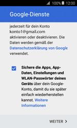 Samsung J120 Galaxy J1 (2016) - E-Mail - Konto einrichten (gmail) - Schritt 15