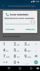 Motorola Moto G 3rd Gen. (2015) - Anrufe - Rufumleitungen setzen und löschen - Schritt 9