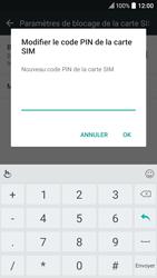 HTC 10 - Sécuriser votre mobile - Personnaliser le code PIN de votre carte SIM - Étape 9