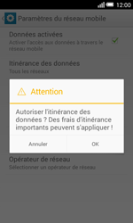 Alcatel OT-5050X Pop S3 - Aller plus loin - Désactiver les données à l'étranger - Étape 8