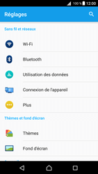 Sony Xperia Z5 - Android Nougat - Wifi - configuration manuelle - Étape 3