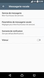 Sony Xperia XZ Premium - Messagerie vocale - configuration manuelle - Étape 7