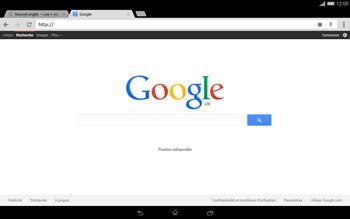Sony Xperia Tablet Z2 LTE - Internet et roaming de données - Navigation sur Internet - Étape 9
